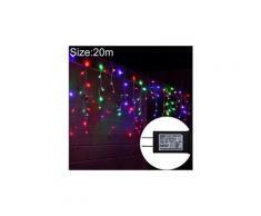 Lumière de fête-ul588 20m ip43 rideau lumineux led imperméable (lumière colorée)