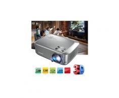 Excelvan bl-68 1280*800 projecteur de cinéma maison supports 3d 1080p videos hdmi vga usb interfaces filet anti-poussière disponible eu gris