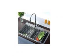 Egouttoir grille séchage en acier inoxydable résistant à la rouille pour vaisselle