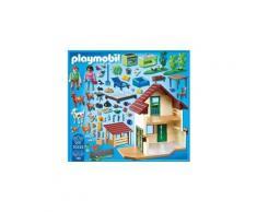 Icaverne univers miniature - habitation miniature - garage miniature 70133 - maisonnette des fermiers
