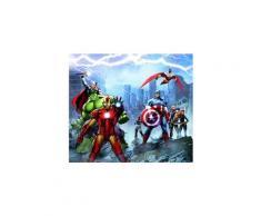 Rideaux voilage equipe avengers marvel 180x160 cm