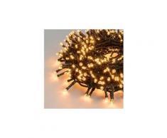 Icaverne guirlande lumineuse d'exterieur xmasking guirlande led d'extérieur noël - blanc cuivré - 5 m