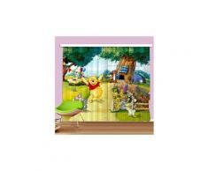 Rideaux winnie l'ourson jardin disney-standard : 280x245 cm