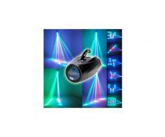 Motif de scène 64leds automatique et à commande vocale projecteur d'éclairage ampoule led