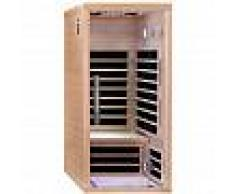 SNÖ Sauna infrarouge panneaux carbone 1670W LUXE 1 place - SNÖ