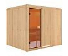 WoodFeeling Sauna traditionnel Nybro 6 à 8 places 68mm - Woodfeeling