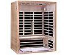 Sauna infrarouge panneaux carbone 2220W LUXE 3 places - SNÖ