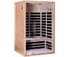 Sauna infrarouge panneaux carbone 2160W LUXE 2 places - SNÖ
