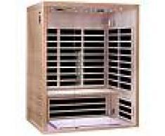 SNÖ Sauna infrarouge panneaux carbone 2220W LUXE 3 places - SNÖ