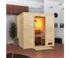 WoodFeeling Sauna traditionnel Jara 3 à 4 places 38mm - Woodfeeling