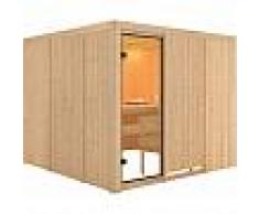 WoodFeeling Sauna traditionnel Arvika 8 à 10 places 68mm - Woodfeeling