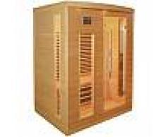 Sauna infrarouge panneaux carbone 2250W 3 places - SNÖ