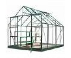 Halls Serre de jardin 8,3m² verte en verre horticole Magnum Halls