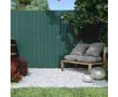 Jarolift Canisse en PVC Premium, largeur des lamelles 17 mm, Vert, 80x500 cm