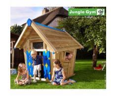 Maisonnette en bois Jungle Gym JOYÃ - 4 enfants