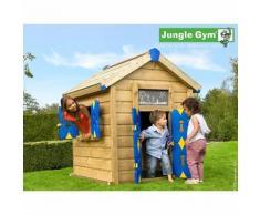 Maisonnette en bois Jungle Gym HIRÕ - 4 enfants.