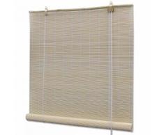vidaXL Store à rouleau bambou naturel 140 x 160 cm