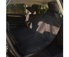 vidaXL Housse de siège auto pour animaux 148 x 142 cm Noir