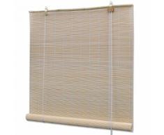 vidaXL Store roulant en bambou 150 x 160 cm Naturel