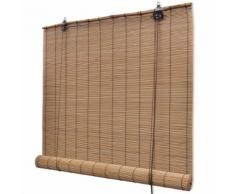 vidaXL Store roulant Bambou 80 x 160 cm