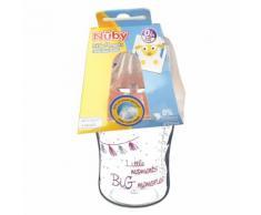 Nuby™ Biberon Little Moments Rose 0+ mois 270 ml 270 pc(s) 5414959040485