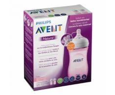 Philips Avent Natural Biberon naturel rose 260 ml 2 pc(s) 8710103873716