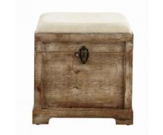 Coffre banc en bois L 39 cm CASCABELLE