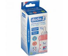 dodie® Initiation+ biberon 150 ml avec tétine débit 1 rouge ml Bouteilles