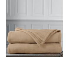 Couverture polaire Thermotec® qualité luxe 450g/m2 - sable