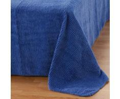 Couvre-lit tuft qualité luxe - bleu pacifique