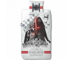 Disney Ensemble de housse de couette enfant Star Wars 200x140 cm Blanc