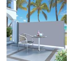 vidaXL Auvent latéral rétractable 120 x 300 cm Gris