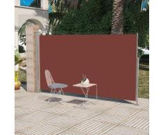 vidaXL Auvent latéral rétractable 160 x 300 cm Marron