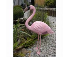 Ubbink Ornement en plastique d'étang Flamant rose