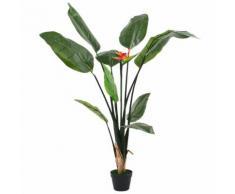 vidaXL Plante artificielle Strelitzia Reginae Oiseau de Paradis 155 cm