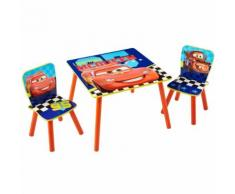 Disney Ensemble de table et de chaise 3 pièces Cars WORL320021