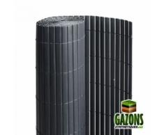 Canisse PVC Anthracite - Double Face