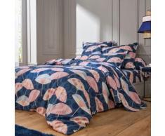 Linge de lit Ombrella coton - bleu marine