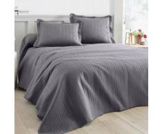 Couvre-lit matelassé - gris