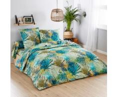 Parure de lit Palmier - coton - vert