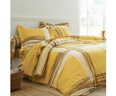 Linge de lit Augustin coton - jaune