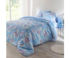 Linge de lit Clara coton - bleu