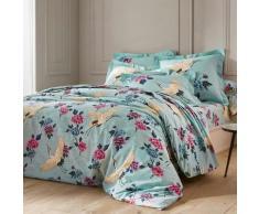 Linge de lit Kimono coton - bleu