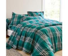 Linge de lit Scott flanelle - vert