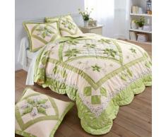 Couvre-lit patchwork - VERT