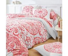 Linge de lit Zelie coton - rose