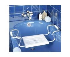 Siège de baignoire blanc
