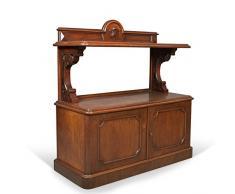 London Fine Antiques Antique, Buffet, Armoire Serveur écossais, Acajou, Mid Victorien C.1870