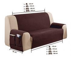 couvre canap rino taille 4 places 180 cm couleur 09 couleurs varies disponibles - Couvre Canape