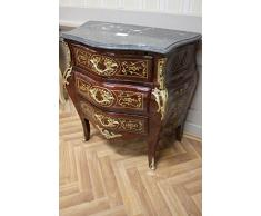 Commode baroque Cabinet Louis XV AaKm0140 de style antique